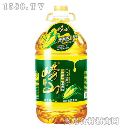 崂山植物甾醇玉米油4L