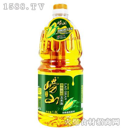 崂山植物甾醇玉米油1.8L