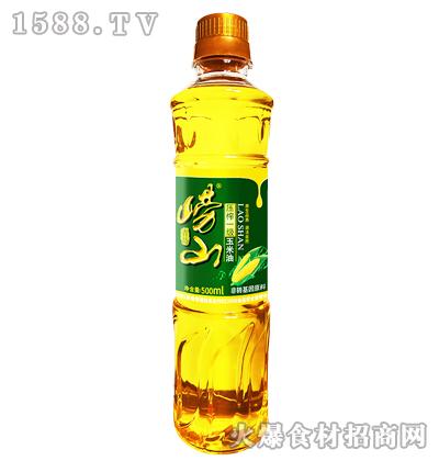 崂山压榨一级玉米油500ml