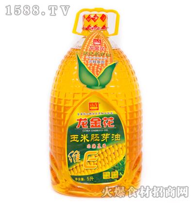 龙金花维E玉米胚芽油5升