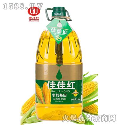 佳佳红玉米胚芽油5L