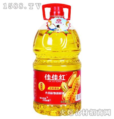 佳佳红食用植物调和油(新装)5L
