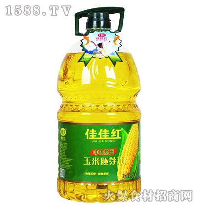 佳佳红玉米胚芽油(新装)5L