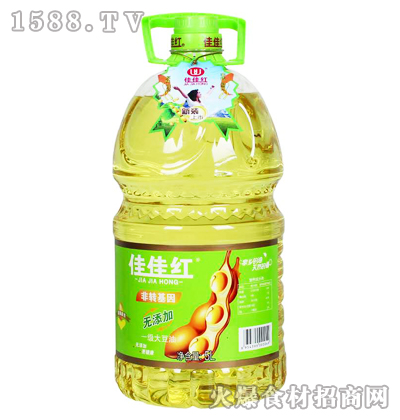 佳佳红一级大豆油(新装)5L