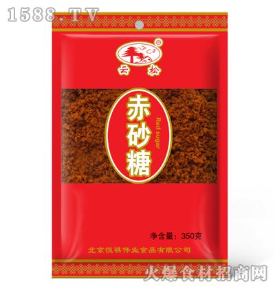 云松赤砂糖350克