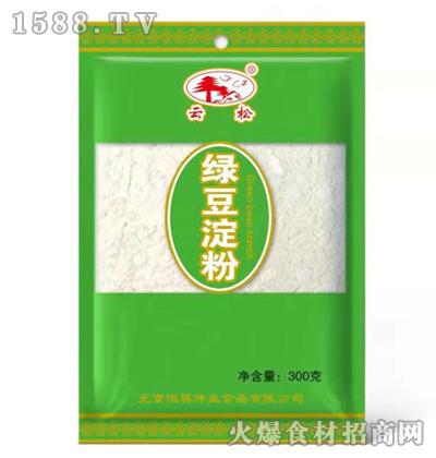 云松绿豆淀粉300克