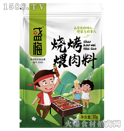 盛梅烧烤煨肉料30g