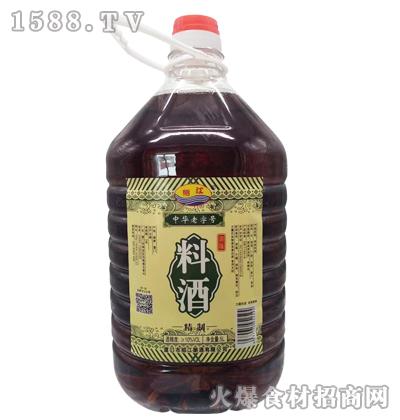 绍江精制料酒5L