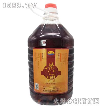 绍江黄酒5L