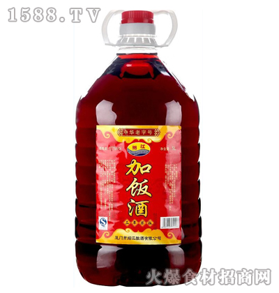 绍江加饭酒(三年陈酿)5L