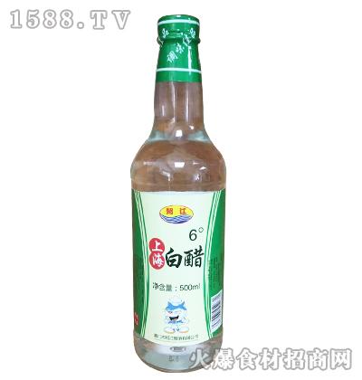 绍江6度上海白醋500ml