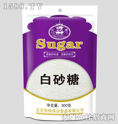 云塔白砂糖300克