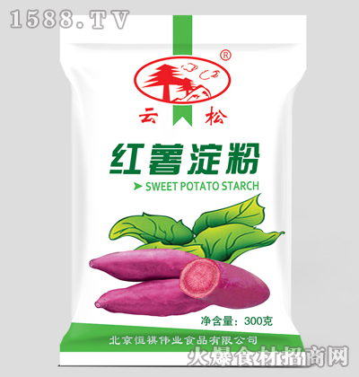 云松红薯淀粉300克