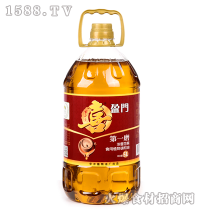 喜盈门浓香芝麻食用植物调和油5L