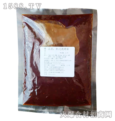 臻百汇韩式烧烤酱400克