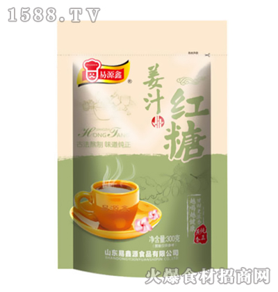易源鑫姜汁红糖300克