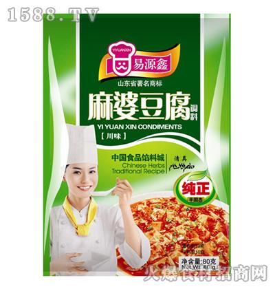 易源鑫川味麻婆豆腐调料80克