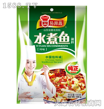 易源鑫川味水煮鱼调料100克