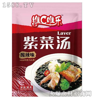 维C唯乐紫菜汤(酸辣味)65g
