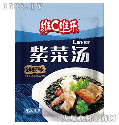 维C唯乐紫菜汤(鲜虾味)65g