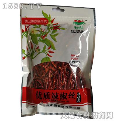 千禧农庄优质辣椒丝45g
