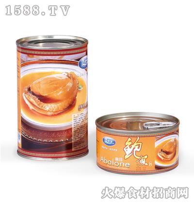 渔太太红烧鲍鱼罐头180克