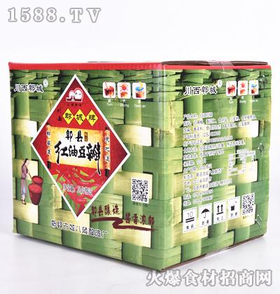 川西郫城牌郫县酿造红油豆瓣(箱装)