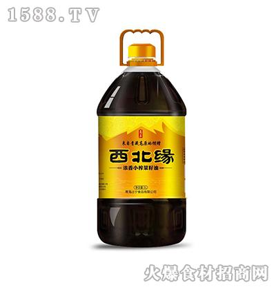 西北缘浓香小榨菜籽油5L