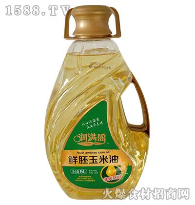 润满盈鲜胚玉米油5L