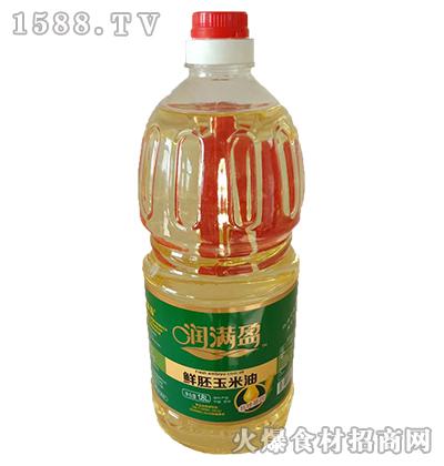 润满盈鲜胚玉米油1.8L