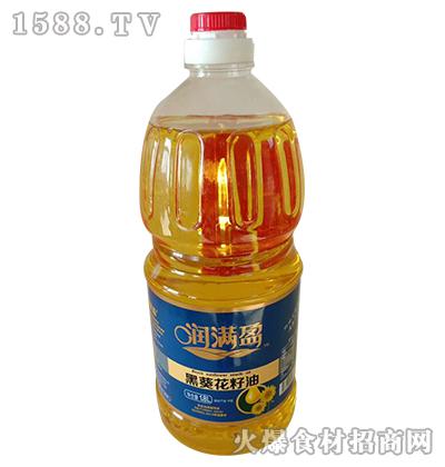 润满盈黑葵花籽油1.8L