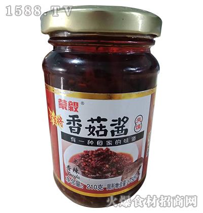 蒙毅香辣香菇酱210g