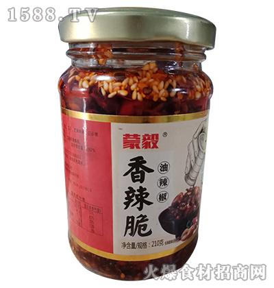 香辣脆油辣椒210g-蒙毅