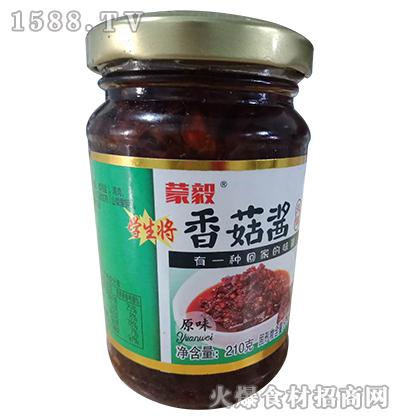 蒙毅原味香菇酱210g