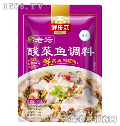 鲜乐冠老坛酸菜鱼调料305克