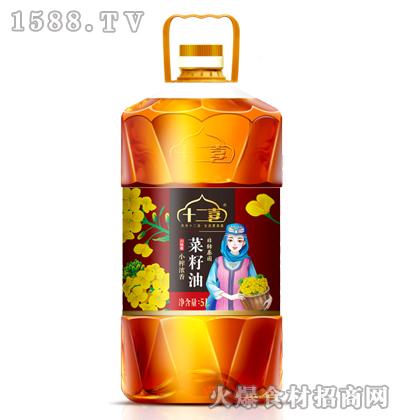 十二喜小榨浓香菜籽油5L