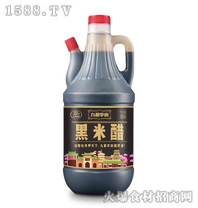 九都李府黑米醋800ml