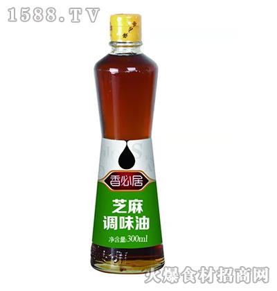 香必居芝麻调味油300ml