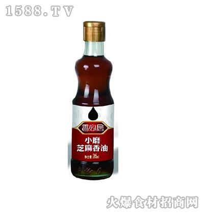香必居小磨芝麻香油205ml