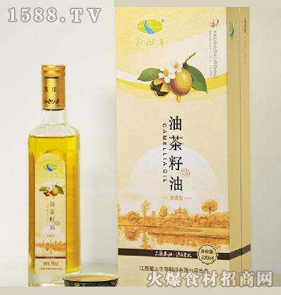 新田岸油茶籽油(浓香型)500ml