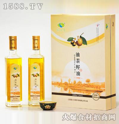 新田岸油茶籽油(浓香型)500mlx2