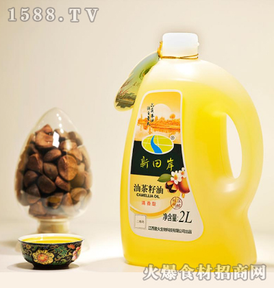 新田岸油茶籽油(浓香型)2L