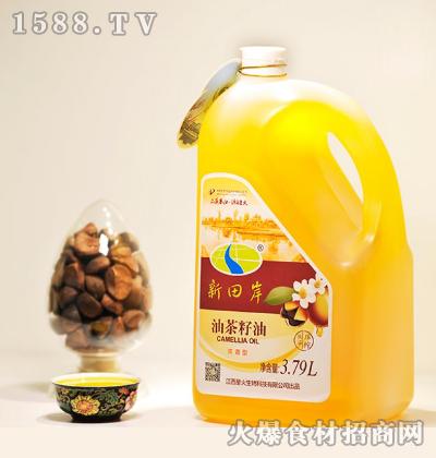 新田岸油茶籽油(浓香型)3.79L