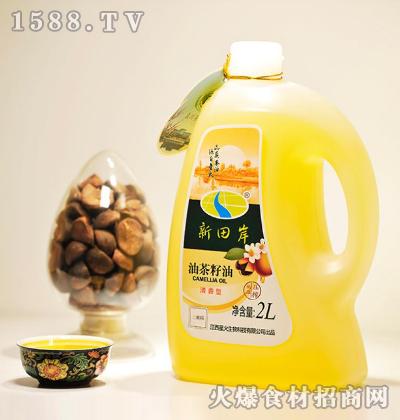 新田岸油茶籽油(清香型)2L