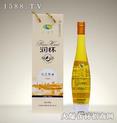 润怀油茶籽油(浓香型)380ml