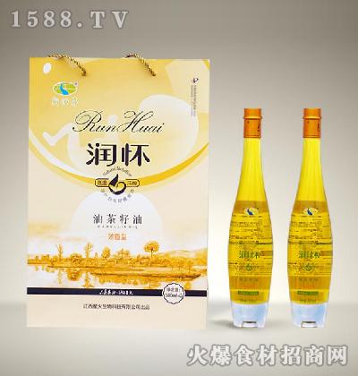 润怀油茶籽油(浓香型)380mlx2