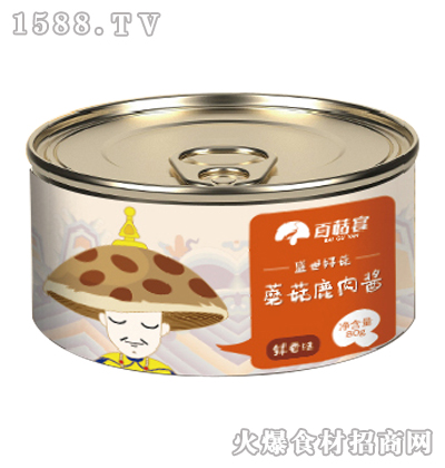 百菇宴蘑菇鹿肉酱80g