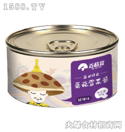 百菇宴蘑菇雪菜酱80g