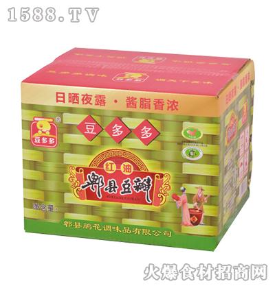 豆多多红油郫县豆瓣-10千克箱装