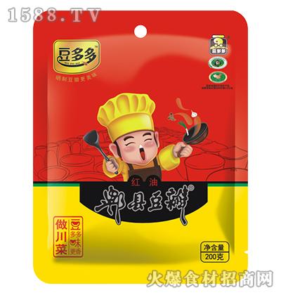 豆多多红油郫县豆瓣200克